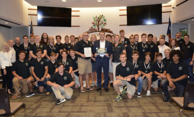 The Woodlands Township Board of Directors proclaimed May 22, 2019 as The Woodlands Youth Rugby Club State Champions Day in The Woodlands, Texas.