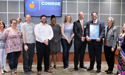 CONROE, TEXAS – The Conroe Independent School District was honored at the May 21 Board meeting for receiving the National Association of Music Merchants (NAMM) Foundation Best Communities for Music Education (BCME) Award for the eighth year in a row.