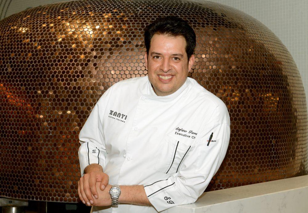 Stefano Ferrero Executive Chef Zanti Cucina
