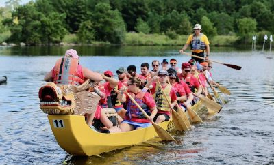 YMCA Dragon Boat Hello Woodlands Rod Prado