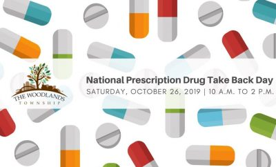 The Woodlands TownshipPrescription Drug Take Back Day at Town Hall