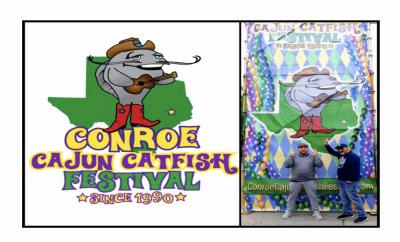 Conroe Cajun Catfish Festival 2019 Nick Rama Hello Woodlands