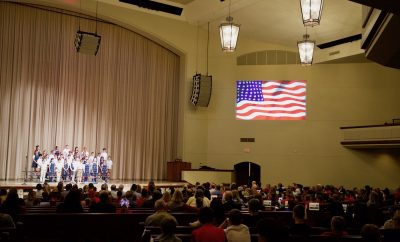 THE WOODLANDS METHODIST SCHOOL SALUTE TO VETERANS