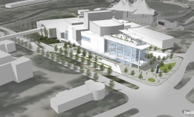 Township, Pavilion enter potential development and operation of new performing arts center