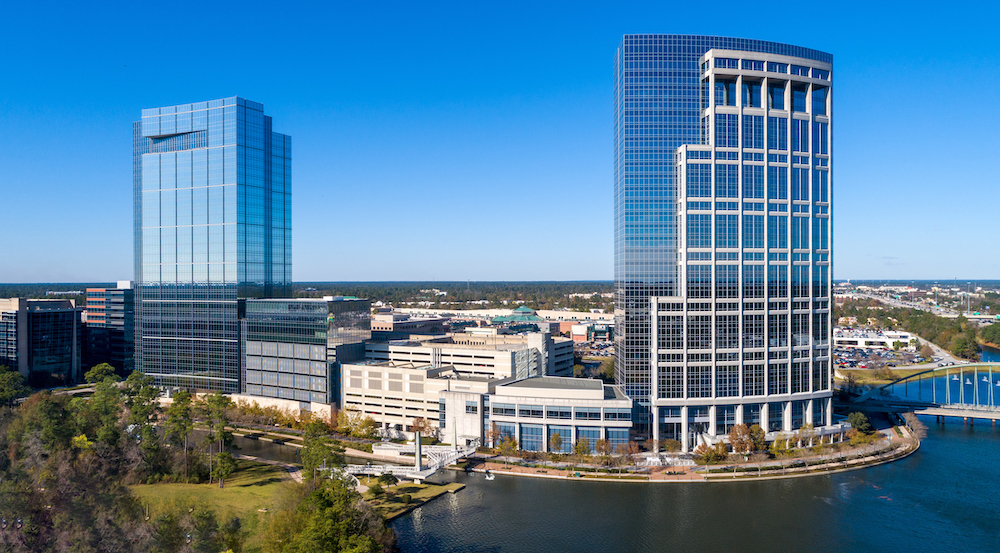 Anadarko Hackett Tower is located at 9950 Woodloch Forest Drive in the Town Center The Woodlands neighborhood, TX, The Woodlands