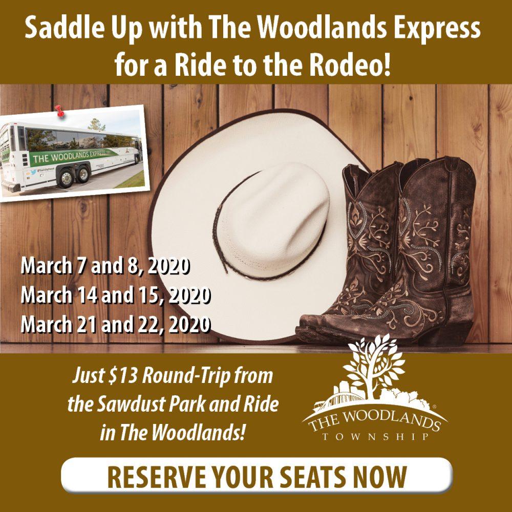 woodlands express rodeo