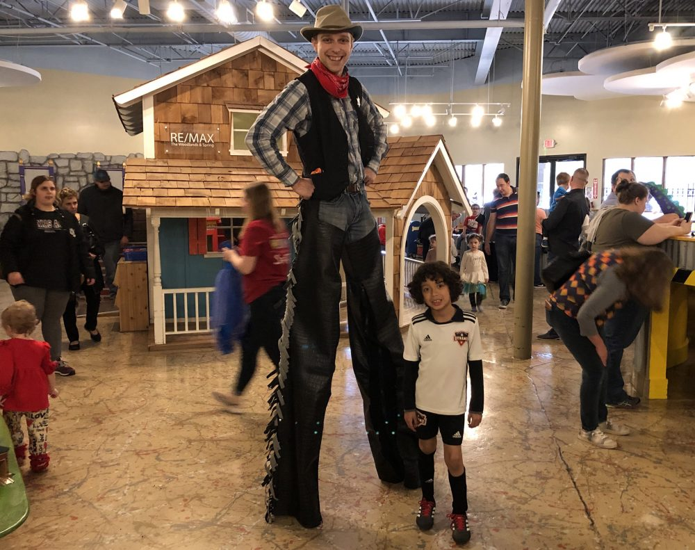 Texas Independence woodlands children's museum 2020
