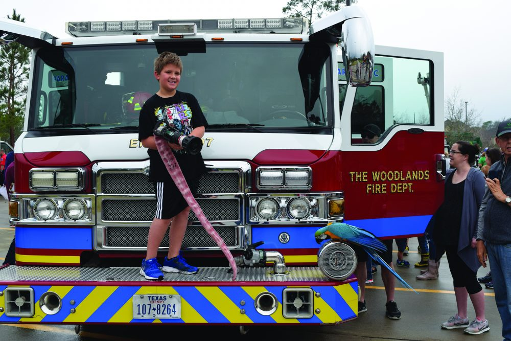 Woodlands Township Touch a Truck