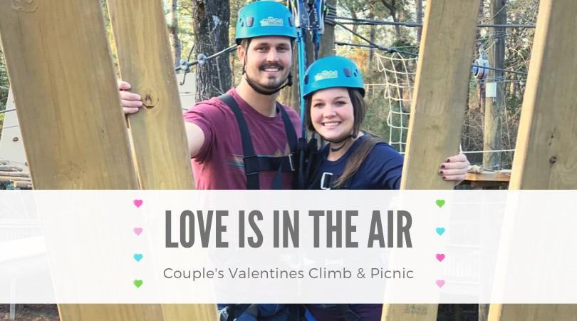 couples climb valentine's day