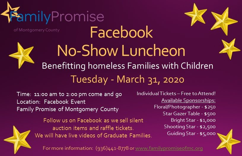 Family Promise No Show Luncheon 2020