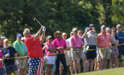 Outdrive PGA TOUR Champions Star John Daly at Insperity Invitational