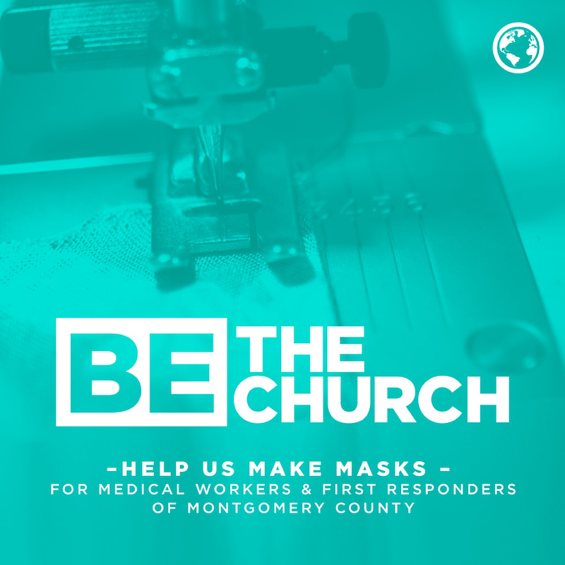 Be The Church Masks for Missions The Woodlands United Methodist Church