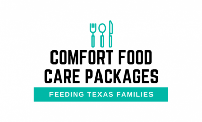 Local restaurants participate in the Comfort Food Care Package program that provides meals for at-risk youth and families across Texas.