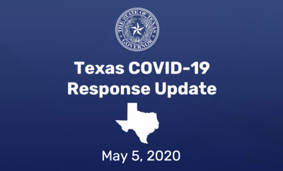 Governor Abbott Expands Business Openings In Texas, Announces Surge Response Teams To Combat COVID-19