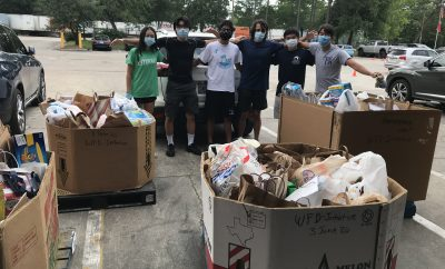 food drive initiative woodlands