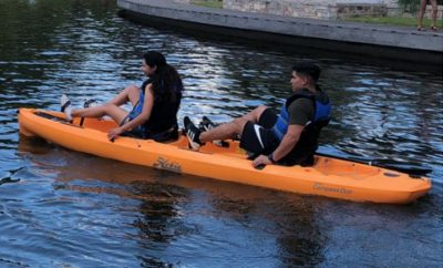 Woodlands Township Pedal Kayak 2020