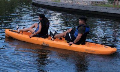 Woodlands Township Pedal Kayak 2020