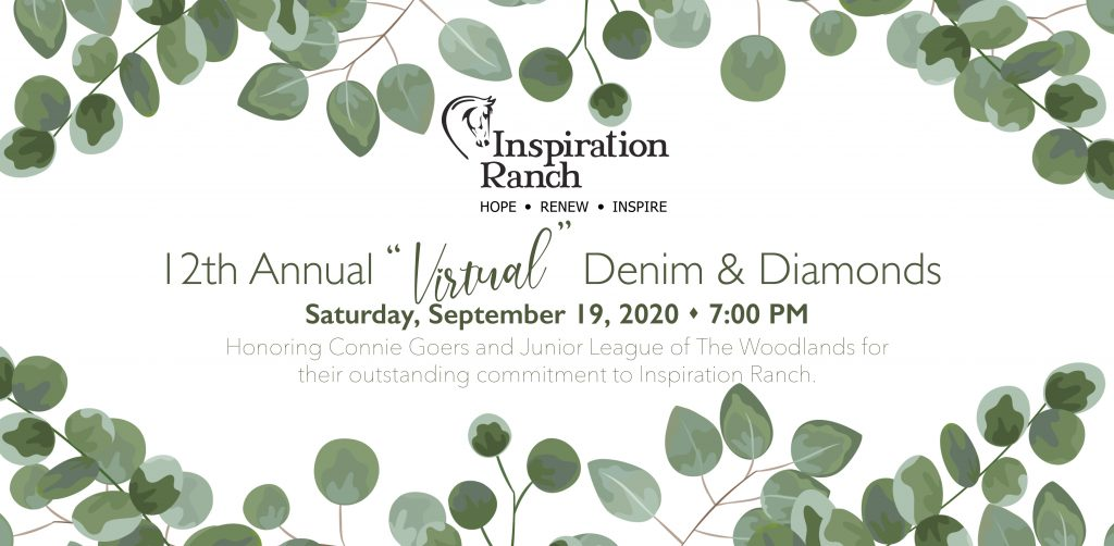 Inspiration Ranch Virtual Denim Diamonds Gala 2020