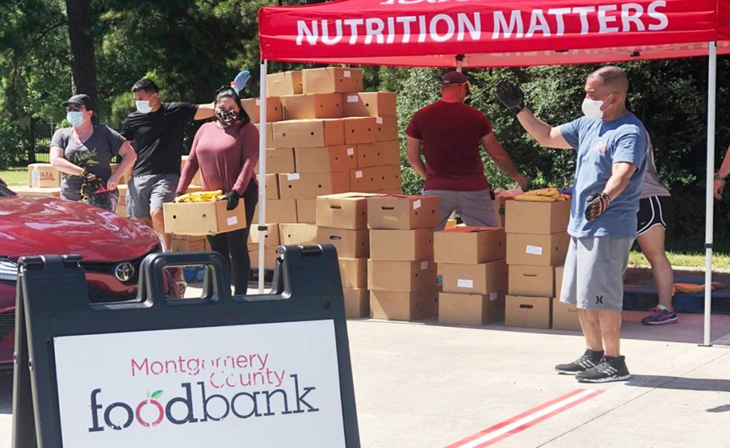 MCFB Montgomery County Food Bank 2020 Mobile Market