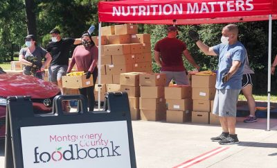 MCFB Montgomery County Food Bank 2020 Mobile Market
