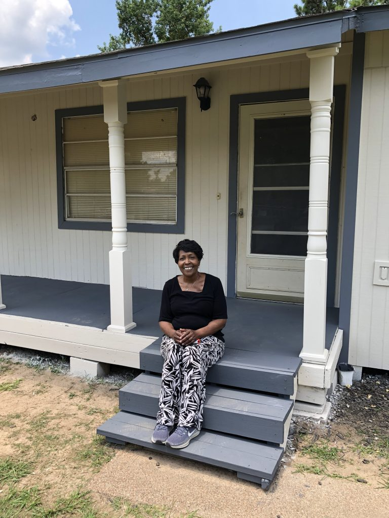 Tommie Hitt Habitat for Humanity Home Repair 2020