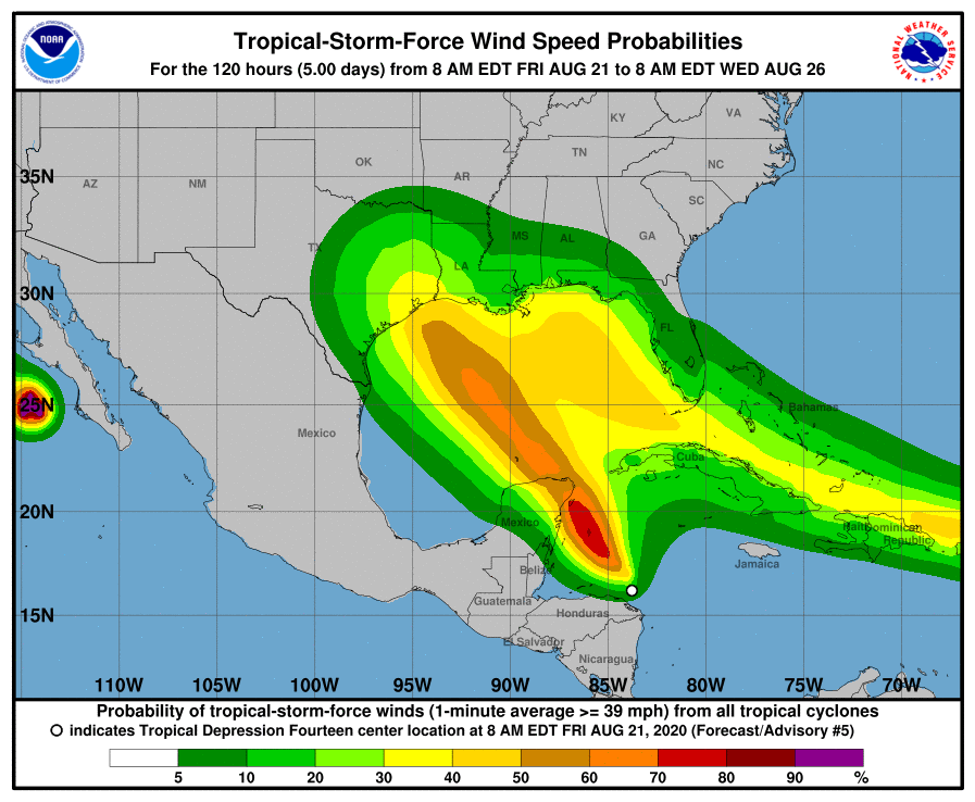 Tropical Depression 14 UpdateMontgomery County Office of Homeland Security and Emergency Management
