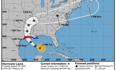 Hurricane Laura Update Montgomery County