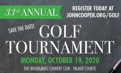 33rd John Cooper School Golf Tournament