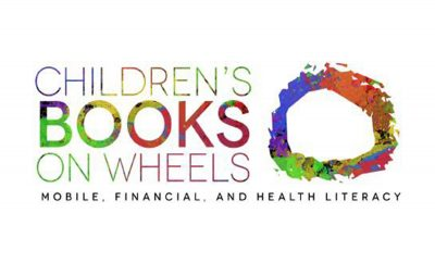 Children's Books on Wheels 2020 Logo