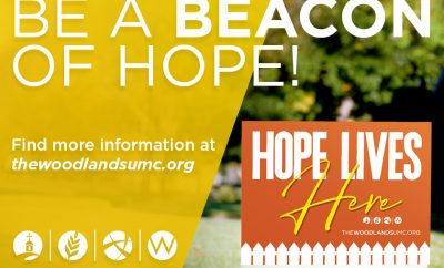 Hope Lives Here TWUMC Methodist Church 2020