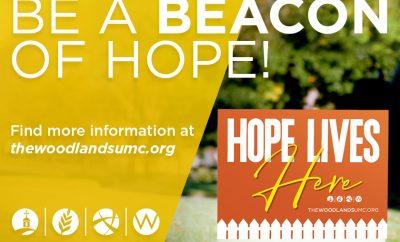 Hope Lives Here TWUMC Methodist Church 2020