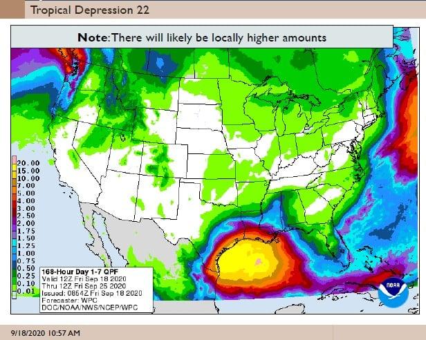 Tropical Depression 22