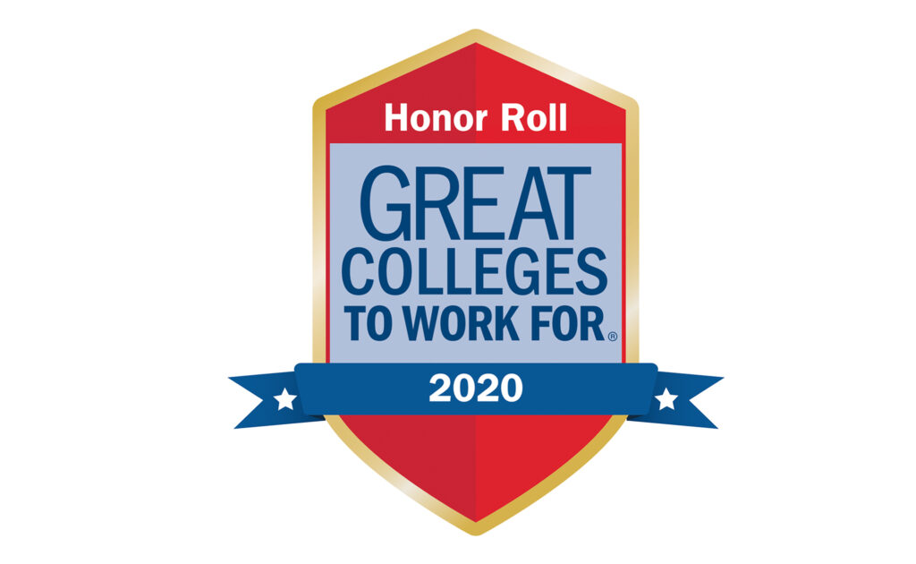 2020 Lone Star College Honor Roll Great Colleges to Work for