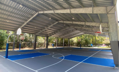 Basketball Court Bear Branch 2020 woodlands township