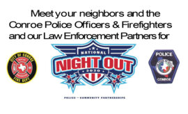 Conroe PD National Night Out 2020