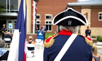 The Patriot Day of Remembrance was held on Friday, September 11, 2020 at 7:30 a.m. at The Woodlands Central Fire Station.