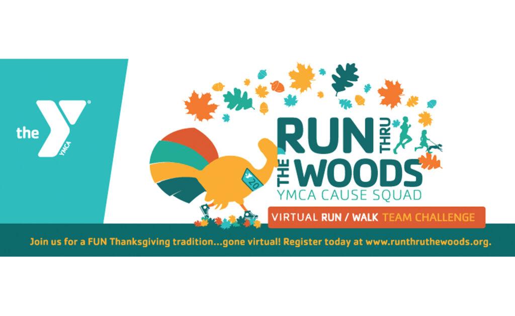 Run thru woods virtual 2020 YMCA