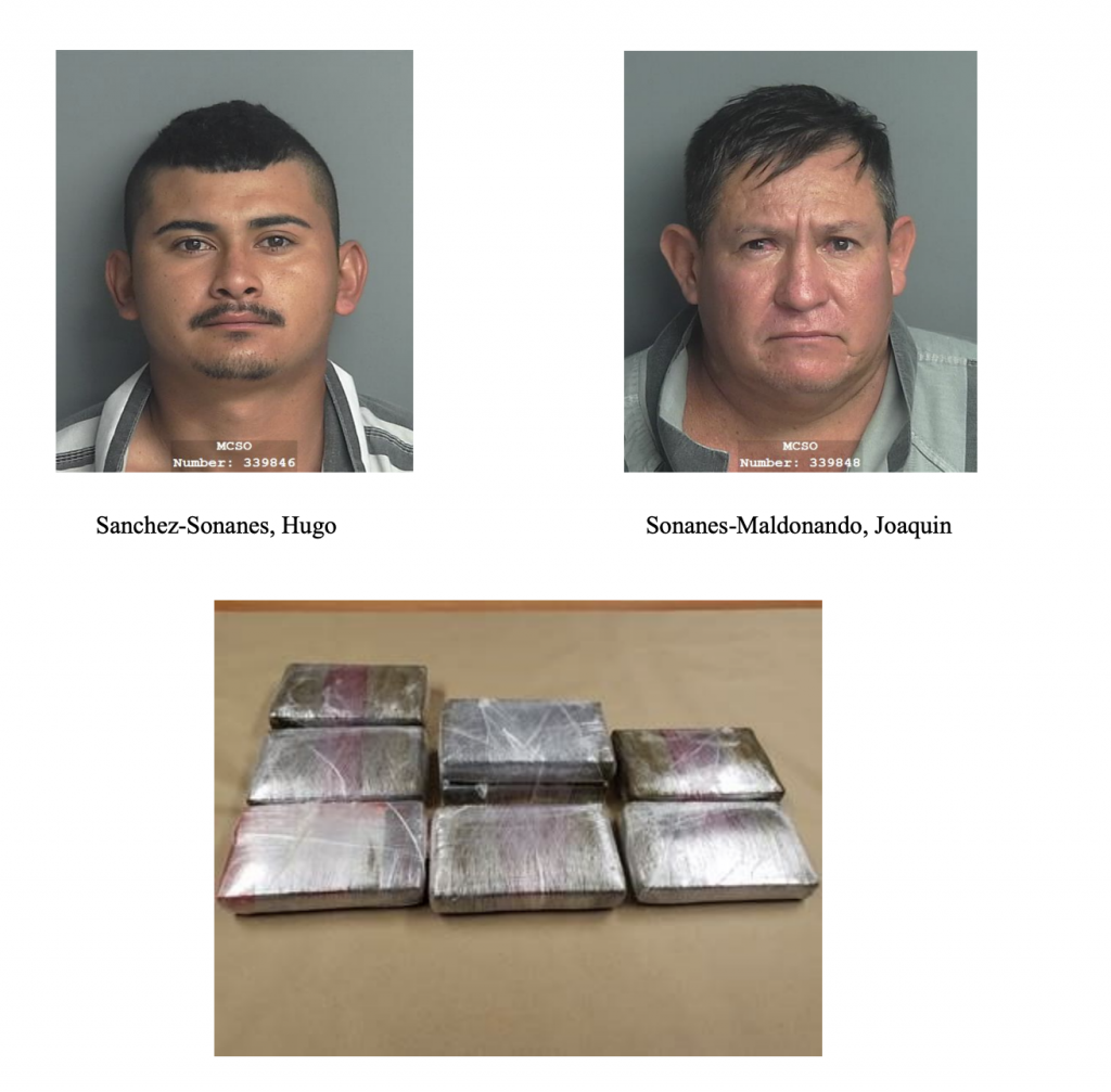 MCTXSheriff Seizes 8Kg of Heroin, Arrests Two