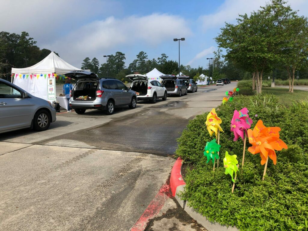 The Woodlands Landscaping Solutions Drive Thru Event 2020