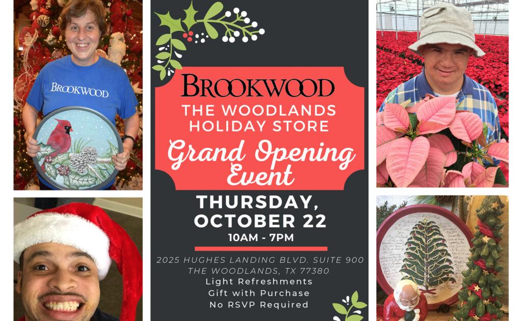 Brookwood Holiday Store Howard Hughes 2020