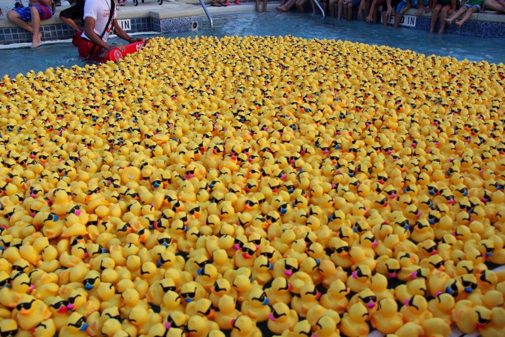 Community Assistance Center Duck Races