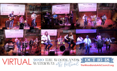 Virtual Performances at The Woodlands Waterway Arts Festival 2020