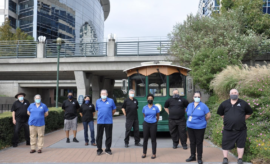 The Woodlands Township has assumed ownership of the Town Center Trolleys from the Brazos Transit District and will bring all operations in-house by welcoming the public transit professionals from the District as new employees to our Township team.