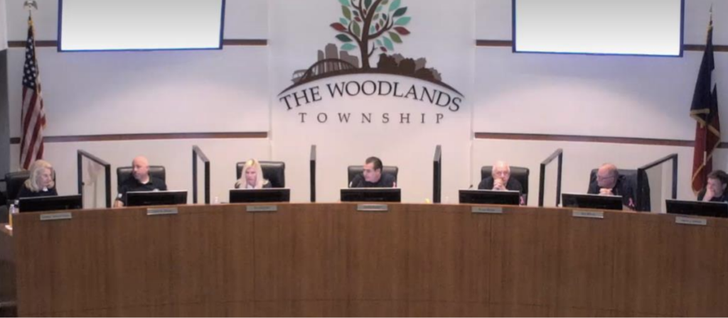 The Woodlands Township Board holds meeting 102220