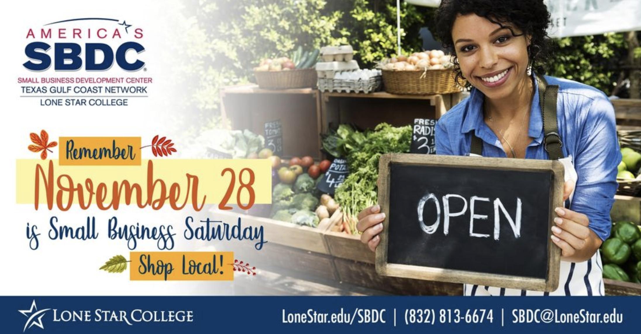 Small Business Saturday SBDC