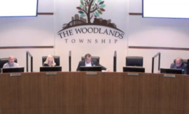 PHOTO: The Woodlands Township Board of Directors held its regular meeting on Wednesday, October 28, 2020 at The Woodlands Township Town Hall, 2801 Technology Forest Boulevard in The Woodlands, Texas.