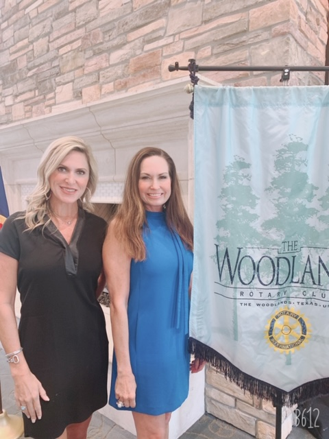 Photo Caption (L-R): Tammy Schroder and Cindy Heiser will serve as gala co-chairs for the Rotary Evening of Elegance, Presented by Huntsman Corporation on February 27, 2021.