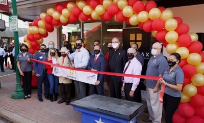 USTMAX Center Ribbon Cutting Conroe Photo by Hello Woodlands Rod Prado
