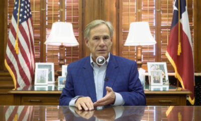 Governor Abbott Issues Executive Order To Open Bars In Qualifying Counties