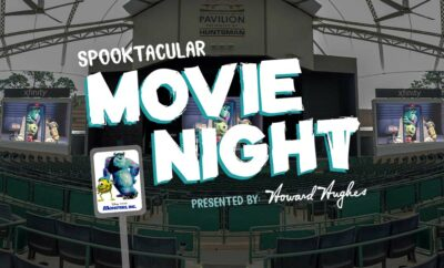 spooktacular movie night cynthia woods mitchell pavilion monsters inc. 2020